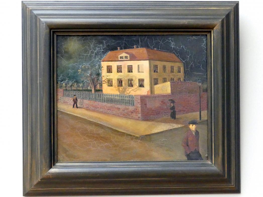 Wilhelm Lachnit: Haus im Gewitter, 1922