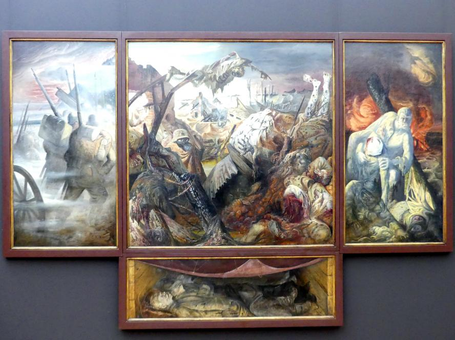 Otto Dix: Der Krieg (Triptychon), 1929 - 1932