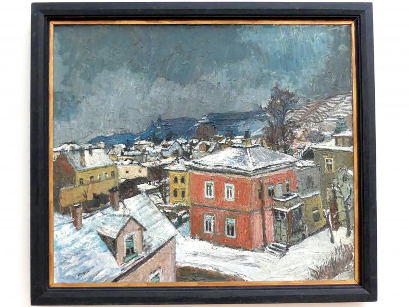 Theodor Rosenhauer: Rotes Haus in der Lößnitz, 1961