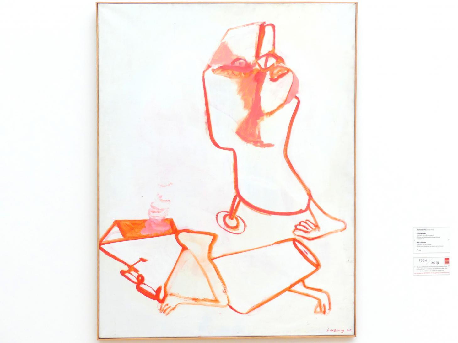 Maria Lassnig: Kriegskinder, 1960 - 1961