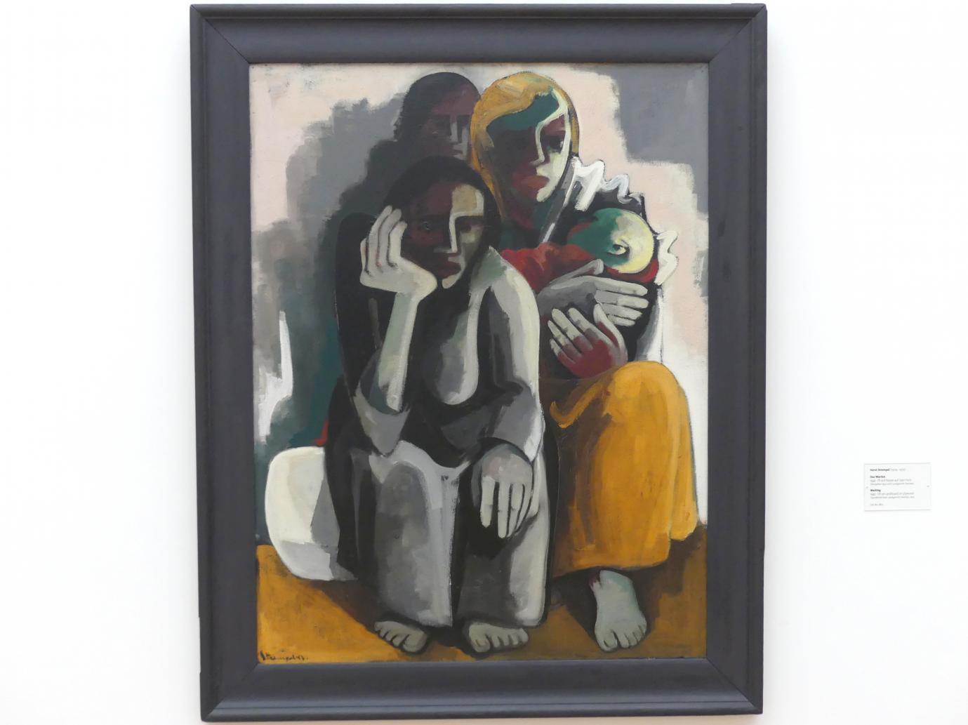 Horst Strempel: Das Warten, 1947