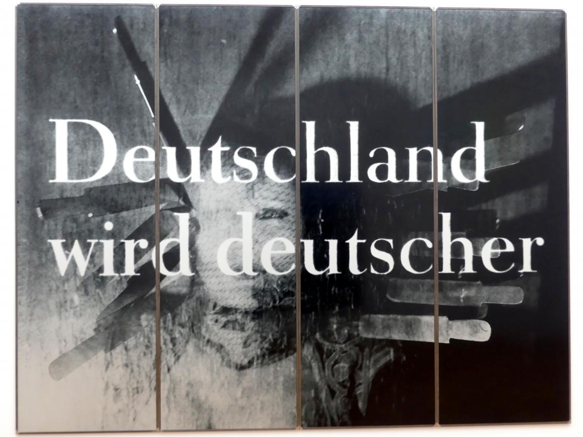 Katharina Sieverding: Deutschland wird deutscher, 1992