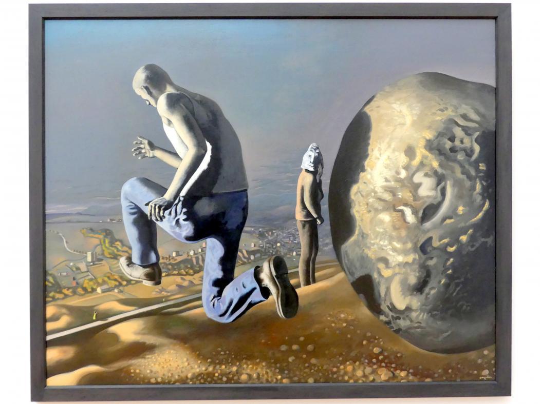 Wolfgang Mattheuer: Die Flucht des Sisyphos, 1972