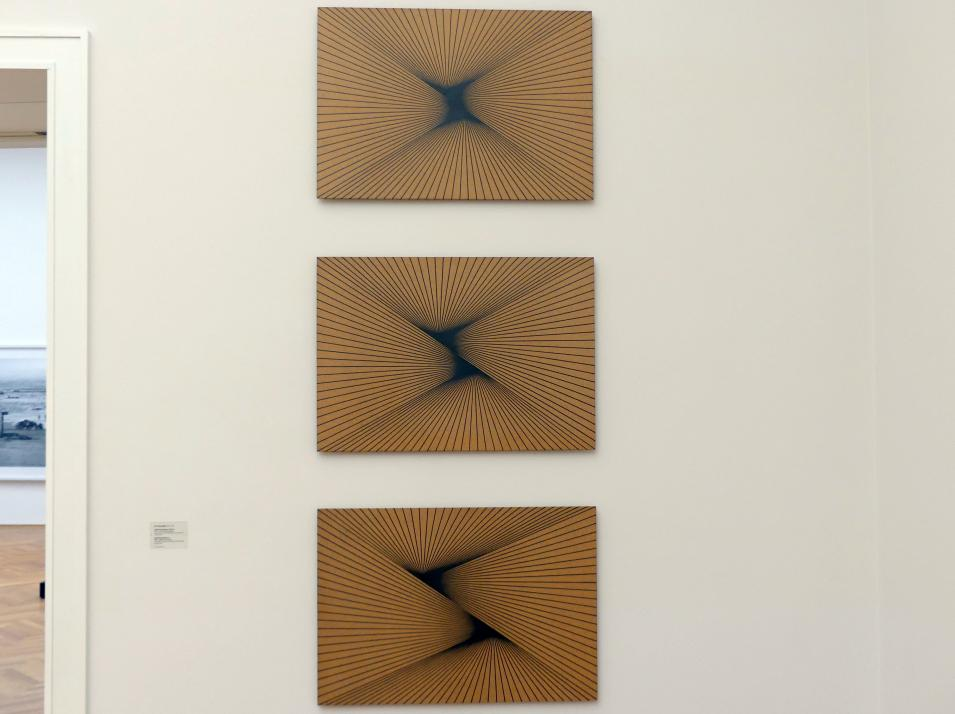Karl-Heinz Adler: Serielle Lineaturen, Tafel 1-3, 1989