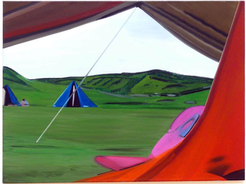 Eberhard Havekost: Camping DD 99, 1999