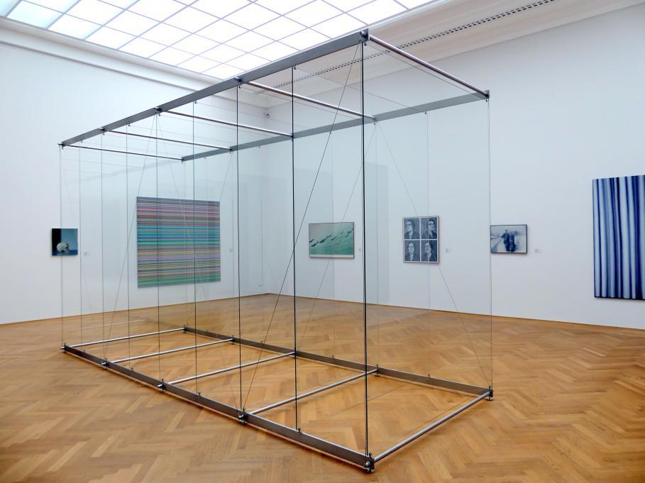 Gerhard Richter: 9 stehende Scheiben (879-3), 2002 - 2010