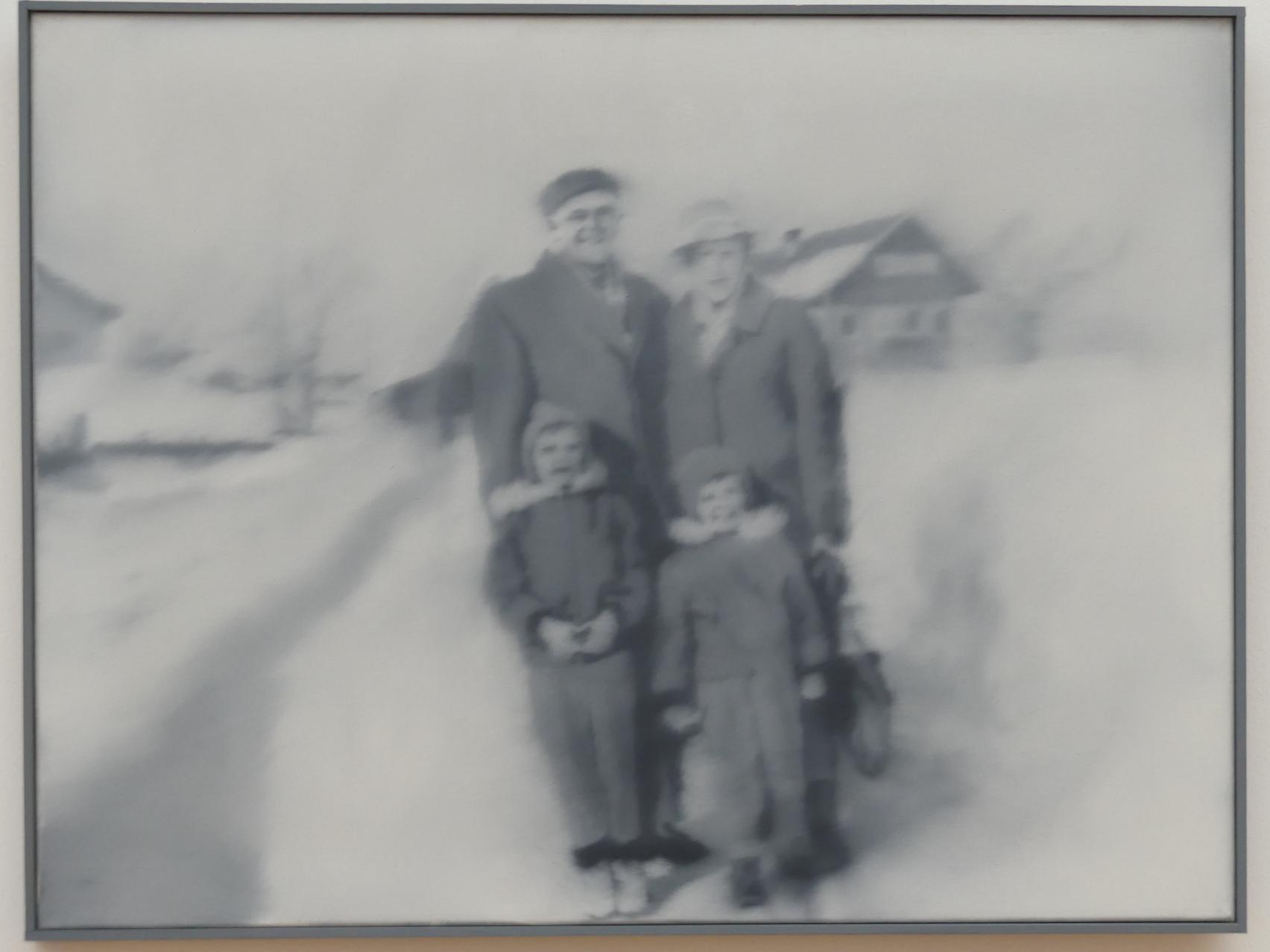 Gerhard Richter: Familie im Schnee (80-8), 1966