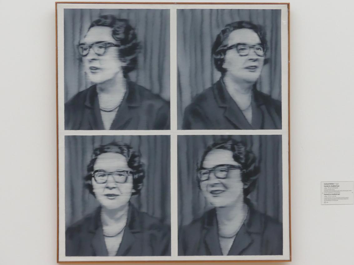 Gerhard Richter: Porträt Dr. Knobloch (41), 1964