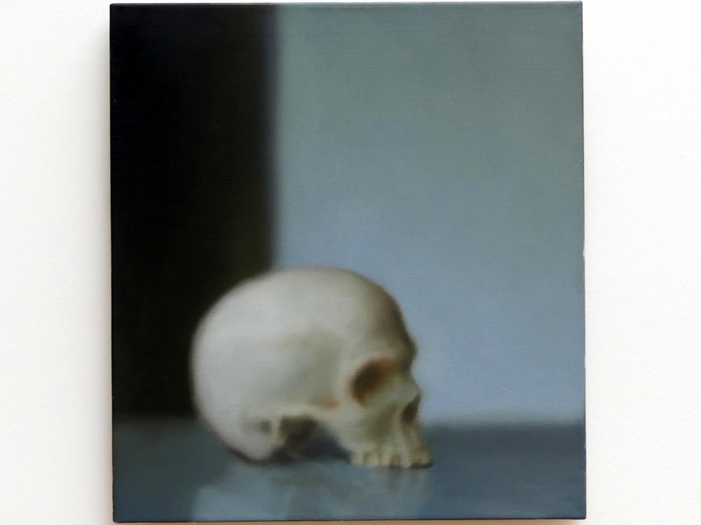 Gerhard Richter: Schädel (548-1), 1983