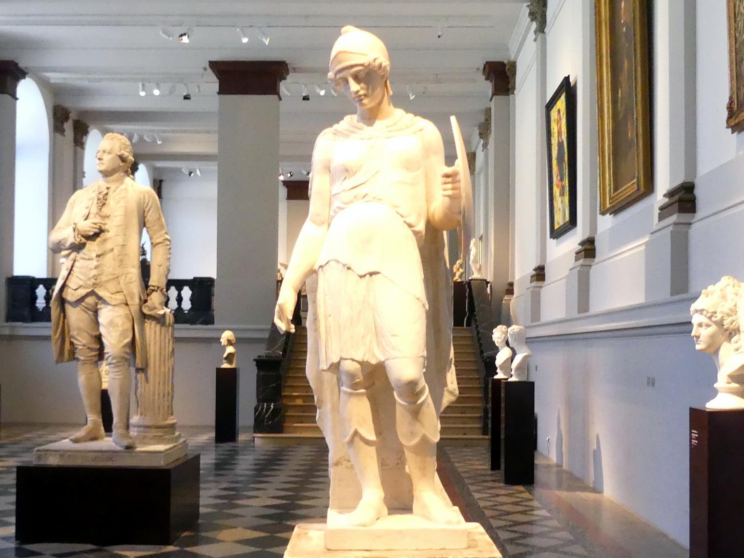 Bertel Thorvaldsen: Statue der Artemis, sog. Stackelbergsche Amazone, 1816 - 1828