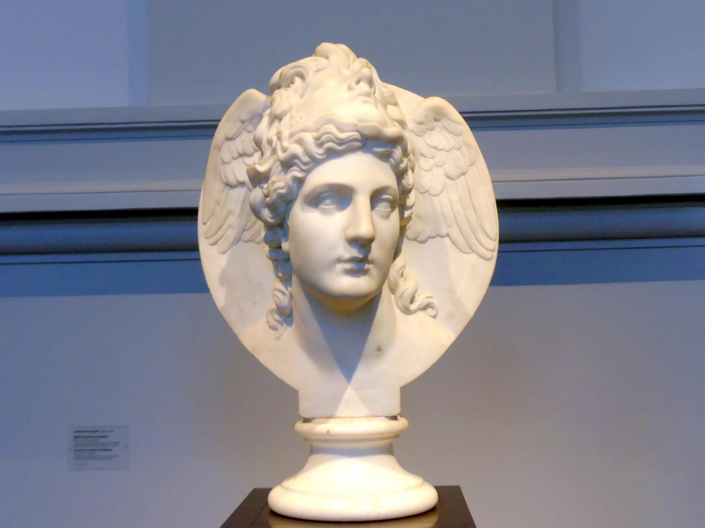 Ludwig von Schwanthaler: Athena mit dem Haupt der Medusa, Um 1840