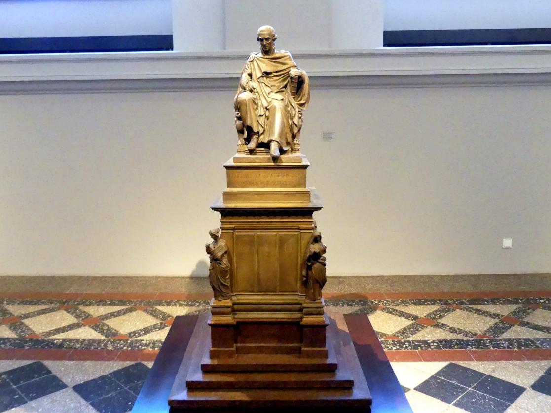 Ernst Rietschel: Entwurf zu dem Denkmal für König Friedrich August den Gerechten von Sachsen, 1827 - 1831