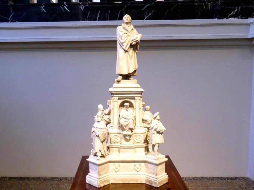Ernst Rietschel: Der erste Entwurf für das Lutherdenkmal in Worms, 1858