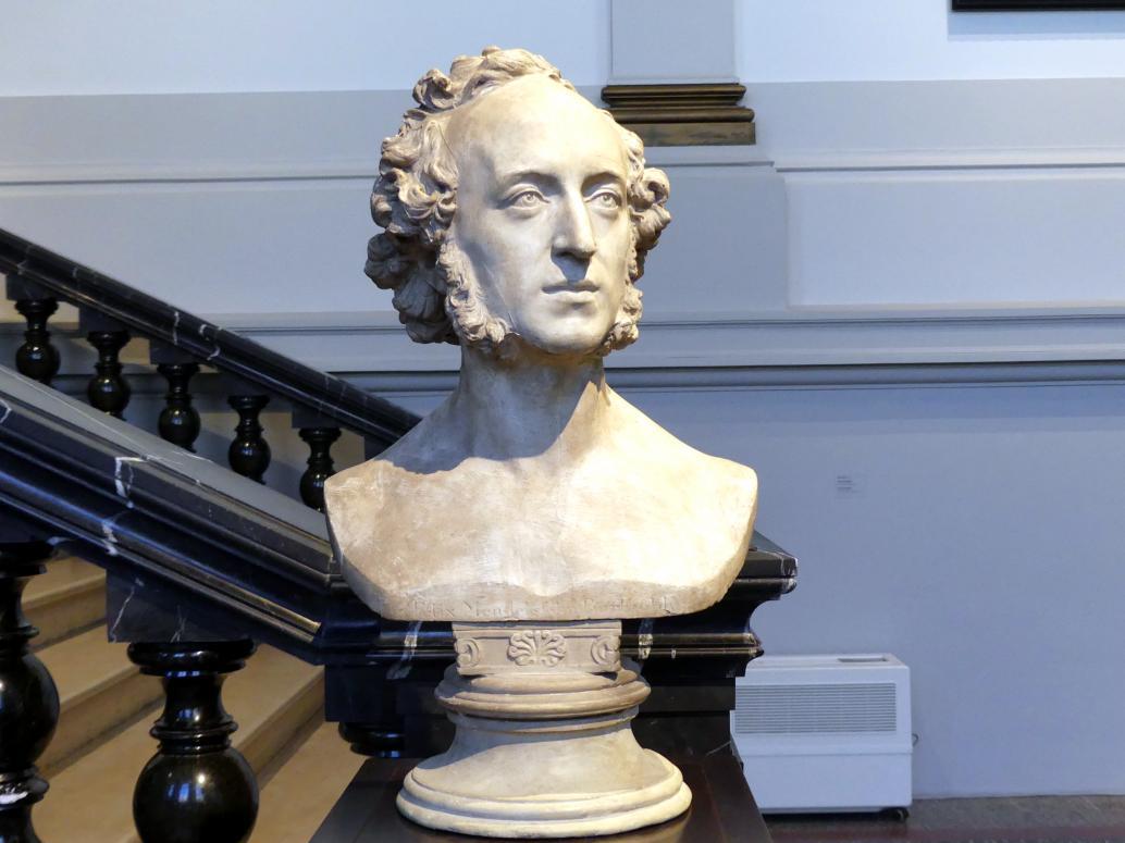 Ernst Rietschel: Felix Mendelssohn-Bartholdy, 1848
