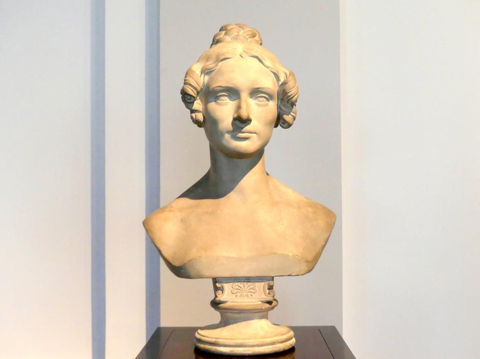 Ernst Rietschel: Albertine Rietschel, geb. Trautscholdt, 1836