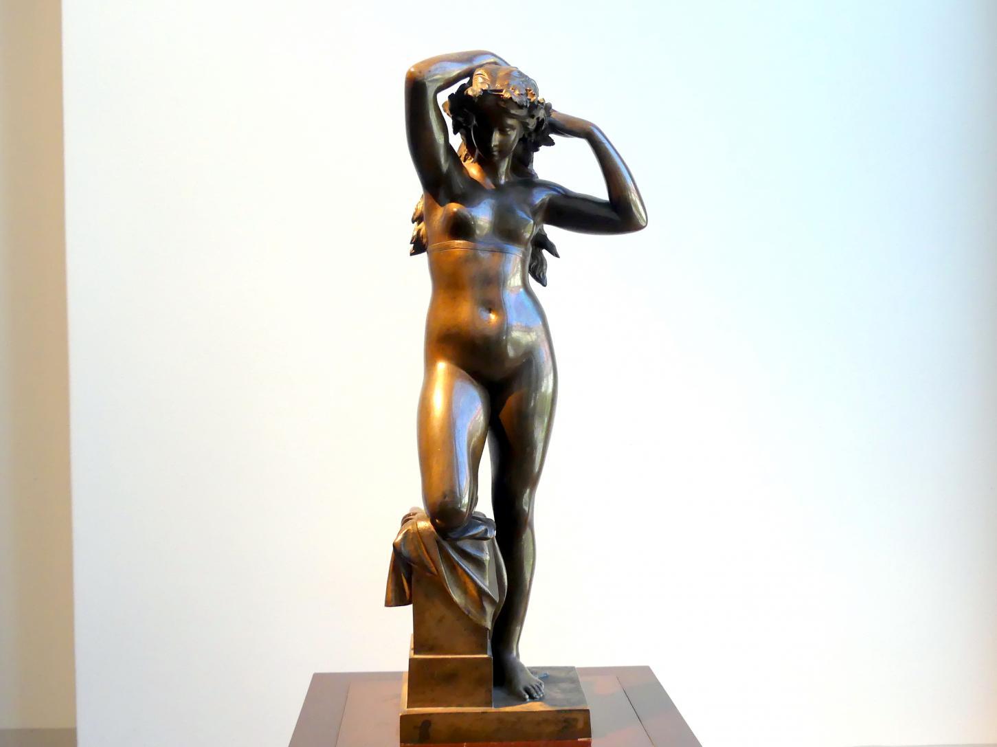 Ernst Julius Hähnel: Bacchantin, 1877