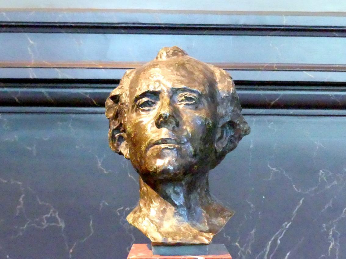 Auguste Rodin: Gustav Mahler, 1900