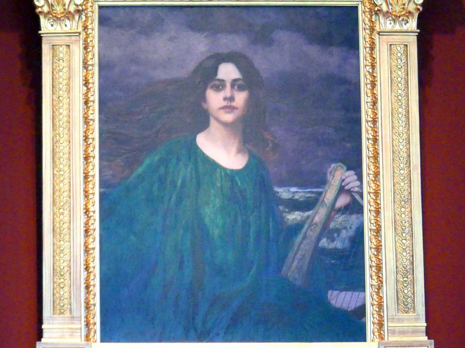 Hans Unger: Die Muse, 1897