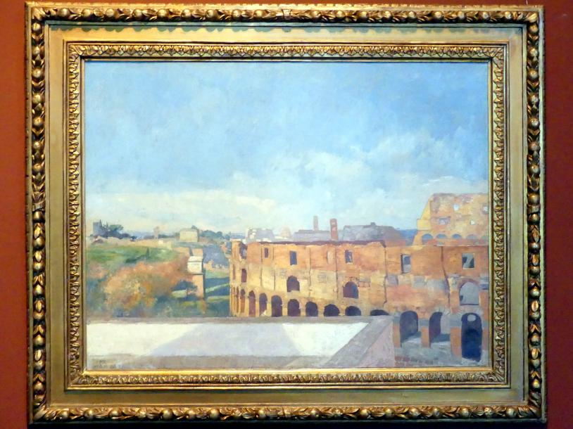 Max Klinger: Das Kolosseum in Rom, 1888