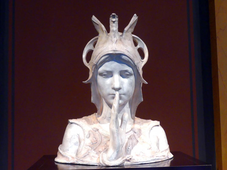 Charles van der Stappen: Sphinx, 1897