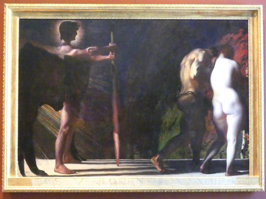 Franz von Stuck: Das verlorene Paradies, 1897