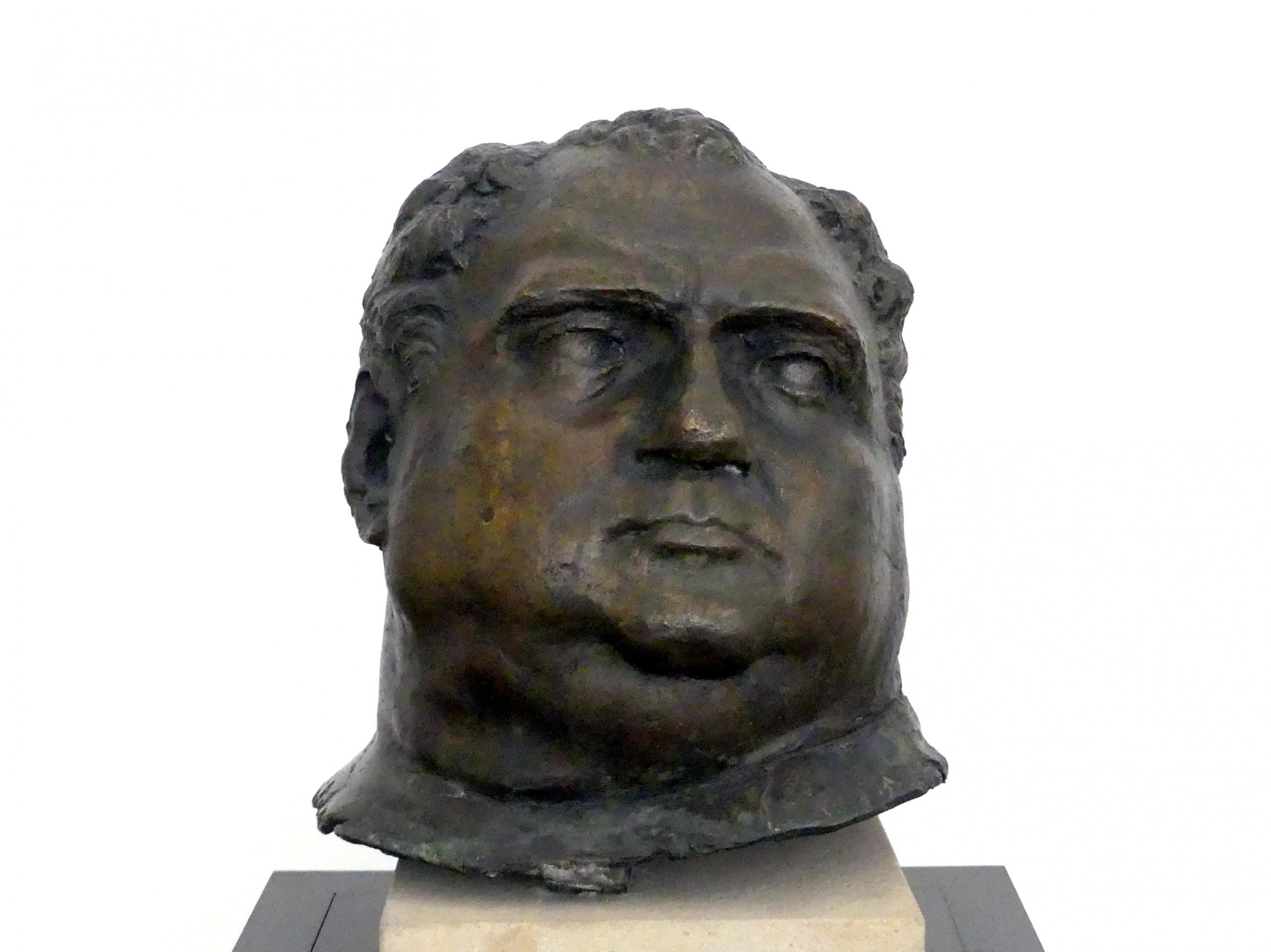 Medardo Rosso: Vitellius, Um 1894