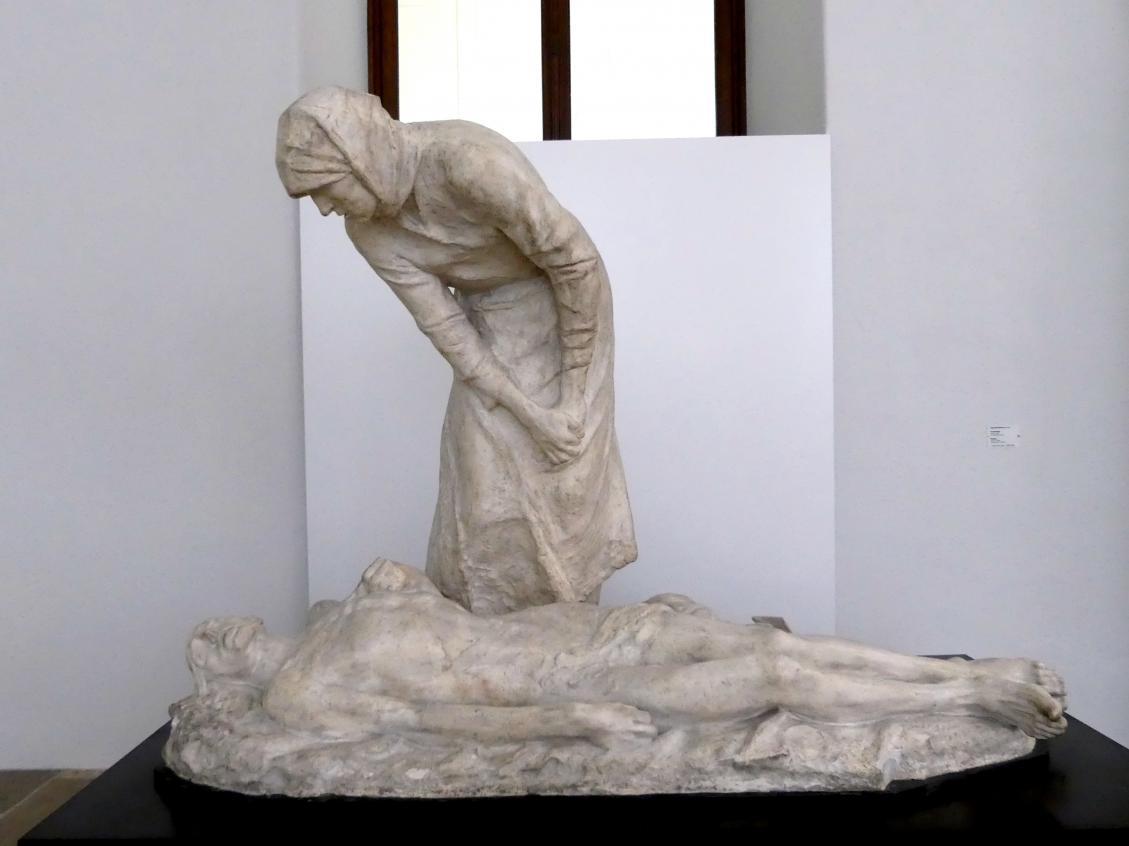 Constantin Meunier: Das Grubengas, 1888 - 1890