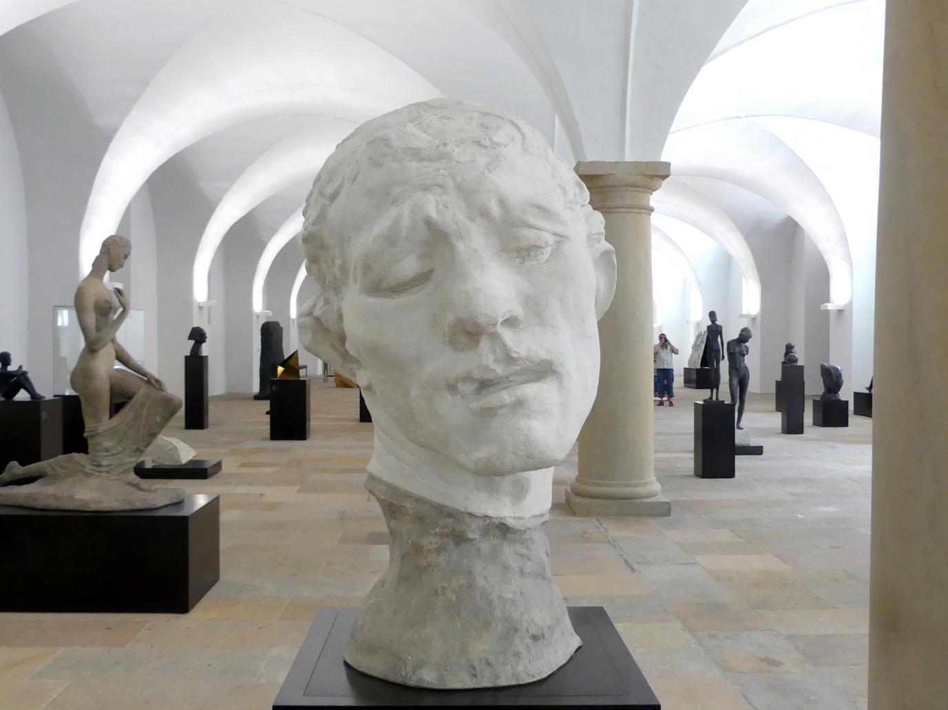 Auguste Rodin: Kolossalkopf des Pierre de Wissant, 1886 - 1887