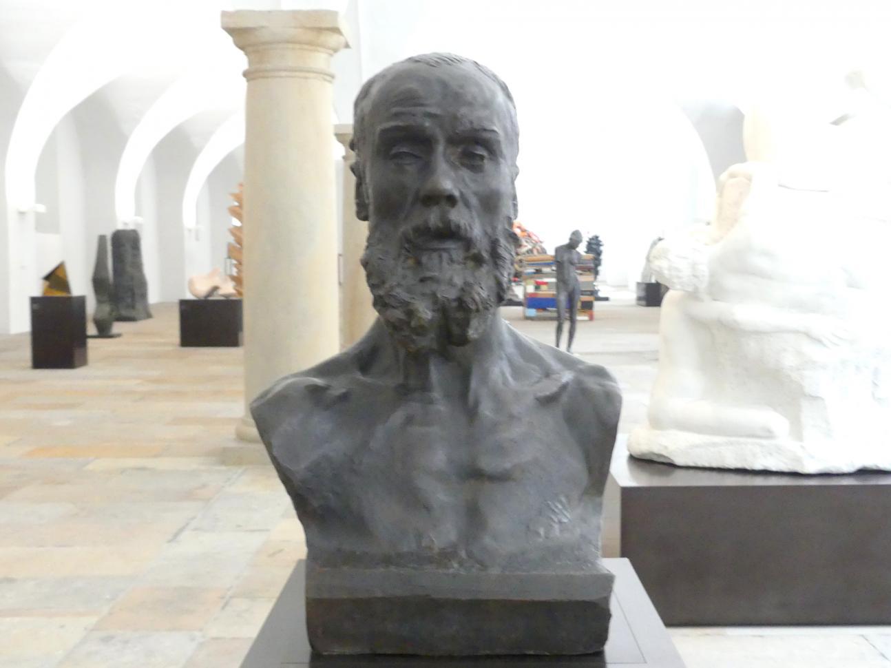 Auguste Rodin: Jean-Paul Laurens, 1881