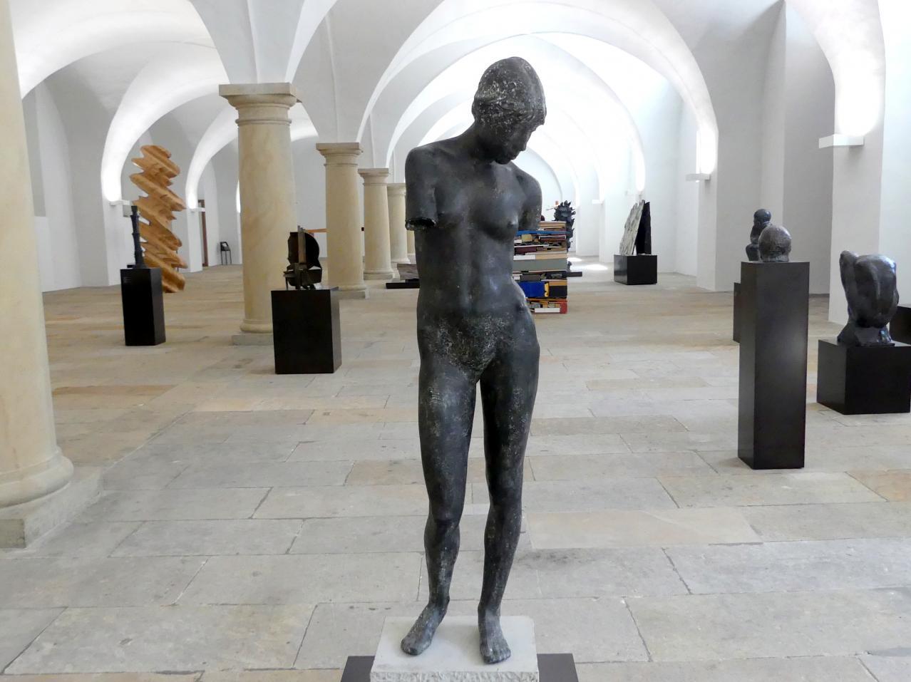 Siegfried Schreiber: Torso einer Stehenden (Mädchentorso), 1981