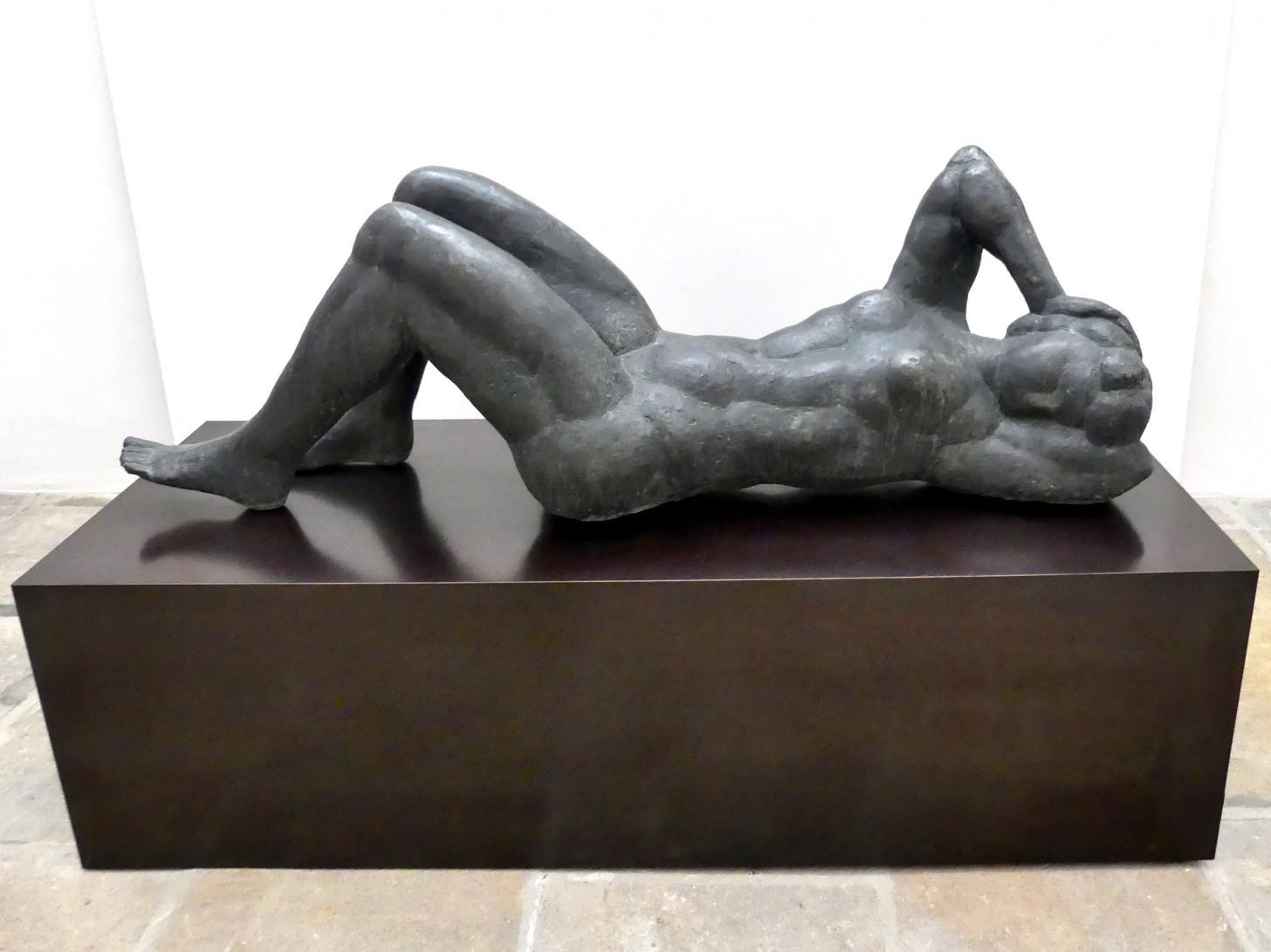 """Werner Stötzer: Liegende """"Werra"""", 1972"""