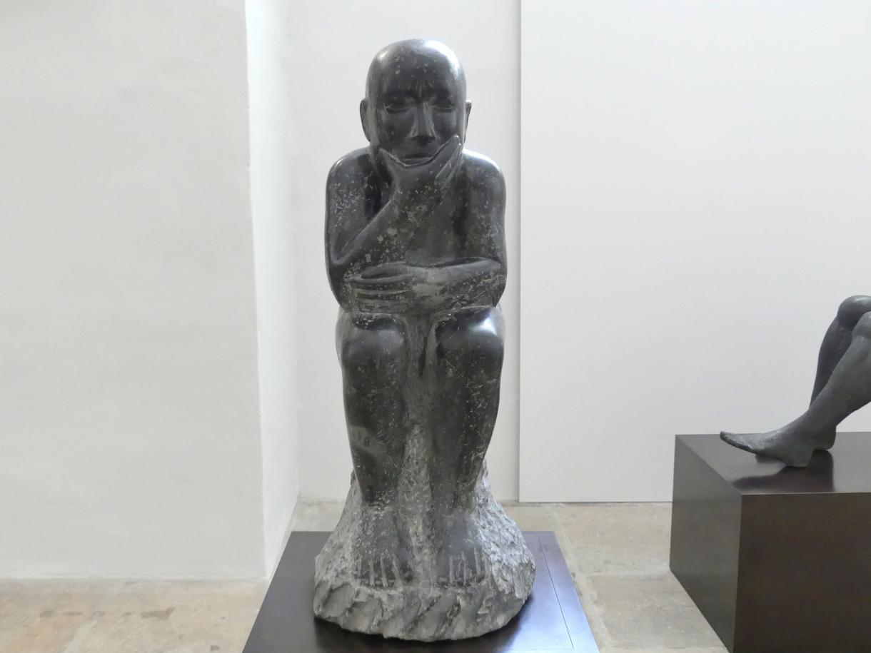 Peter Makolies: Hockende Figur (Nachdenkender), 1959