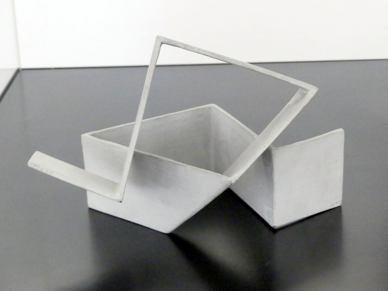 Hermann Glöckner: Untere Faltungszone vom Mast, 1975