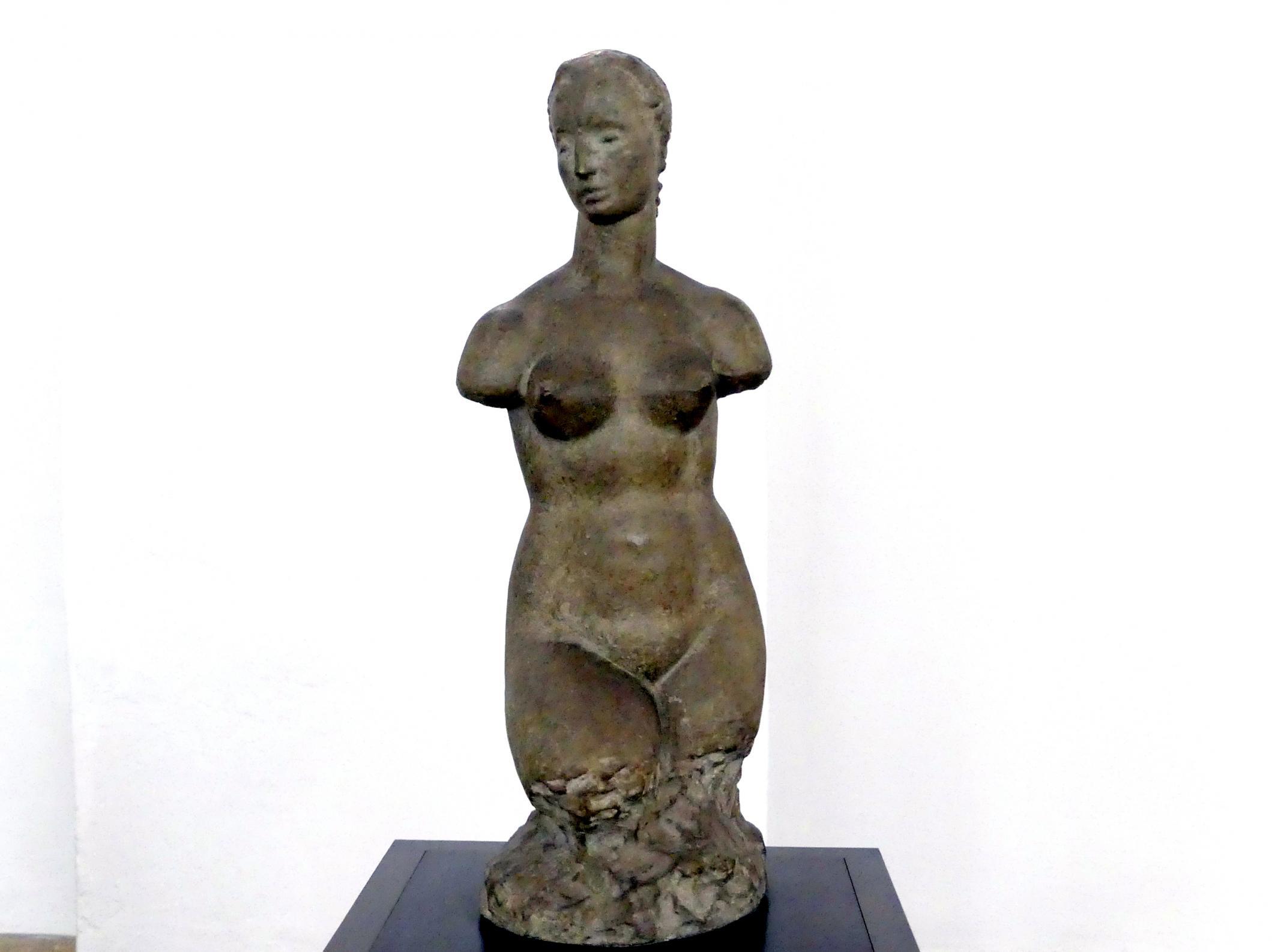 """Wilhelm Lehmbruck: Kleiner weiblicher Torso - sogenannter """"Hagener Torso"""", 1910 - 1911"""