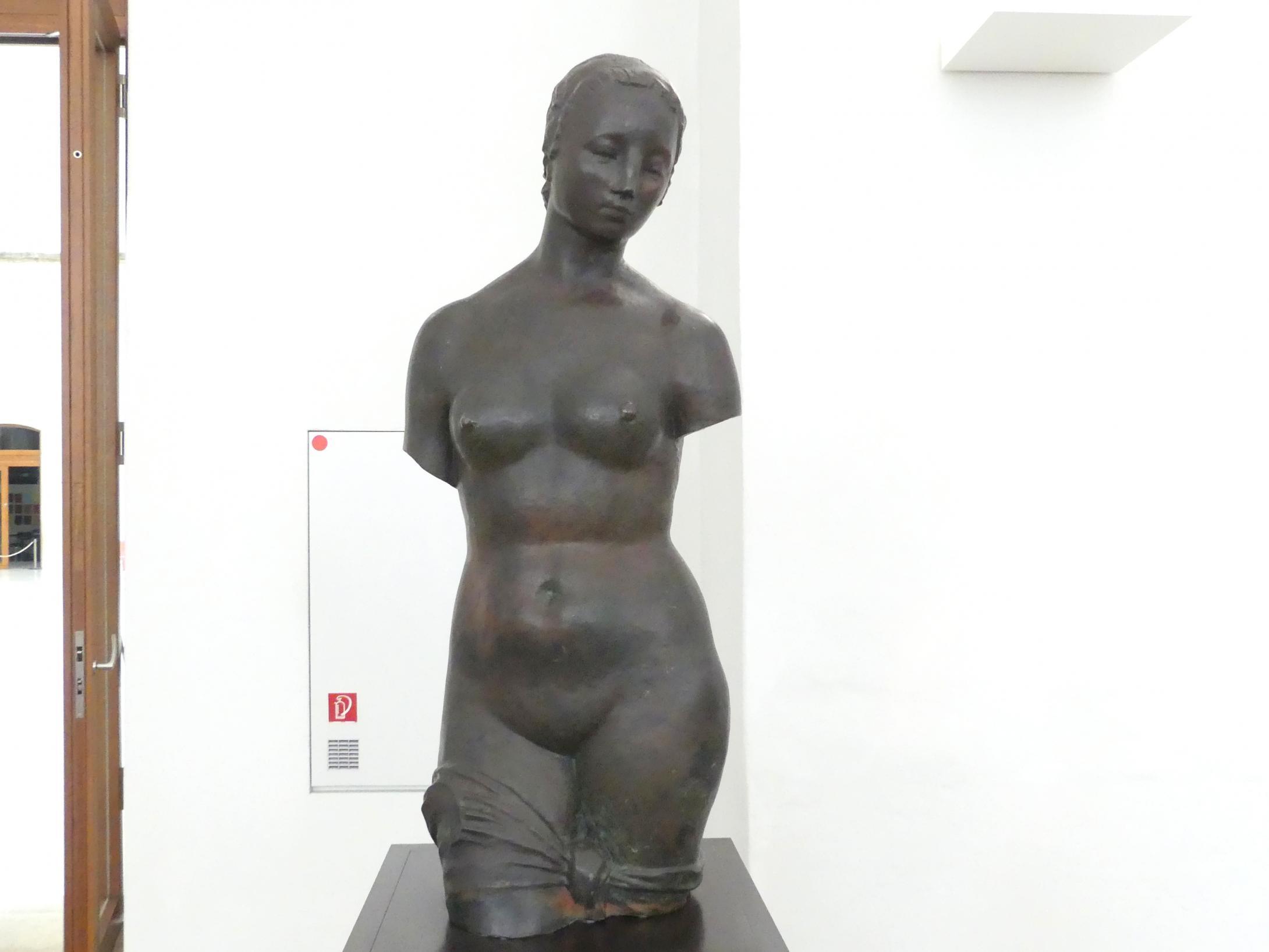 Wilhelm Lehmbruck: Torso der großen Stehenden, 1910