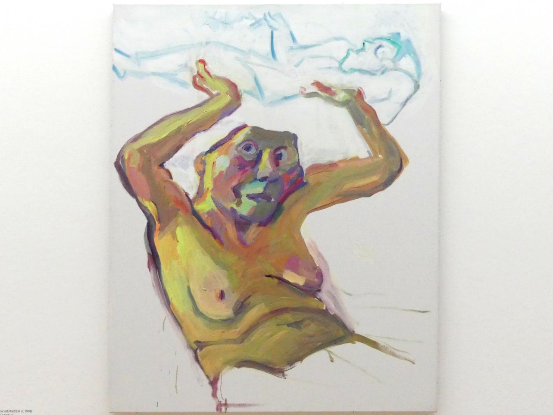 Maria Lassnig: Illusion von den versäumten Heiraten II, 1998