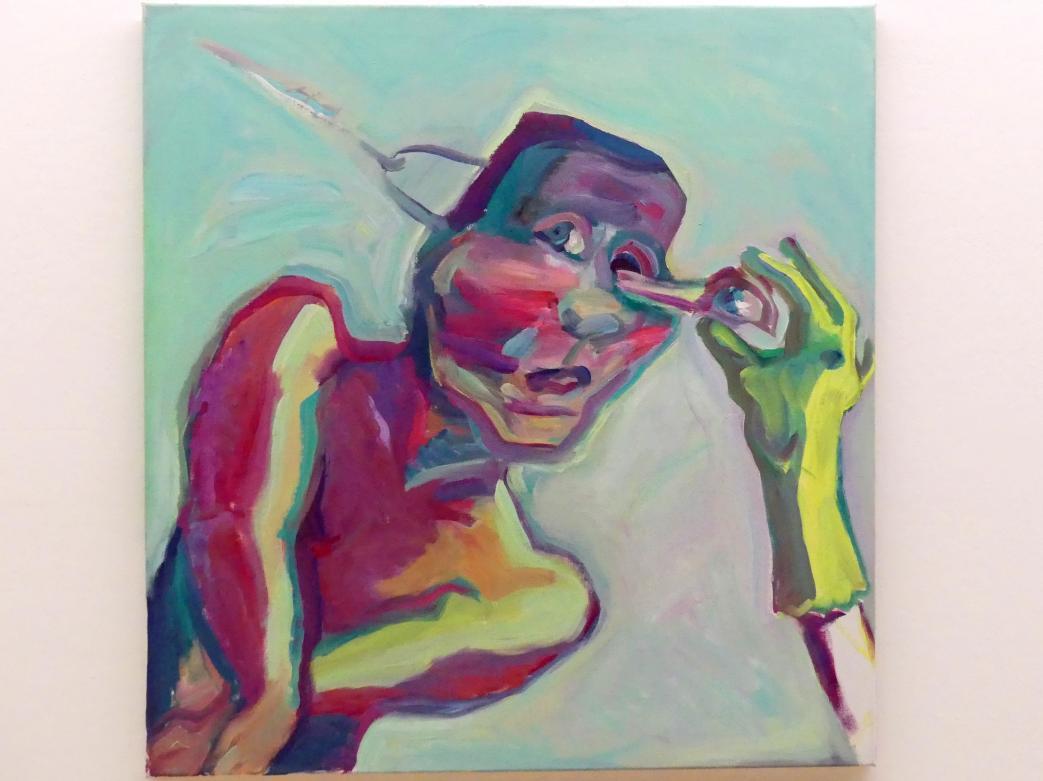 Maria Lassnig: Materialisation des Auges, Undatiert