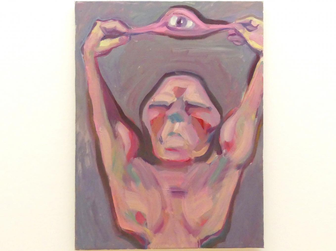 Maria Lassnig: Das optische Zeitalter, 1985 - 1986