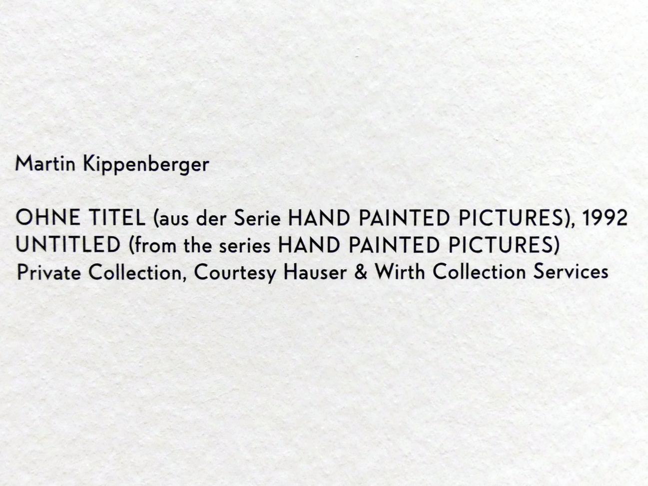 Martin Kippenberger: Ohne Titel, 1992, Bild 2/2