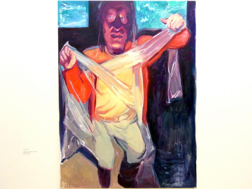 Maria Lassnig: Macht des Schicksals, 2006