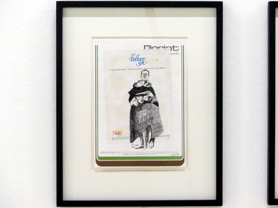 Martin Kippenberger: Ohne Titel (Hotel Bellver Sol / Dorint), 1989