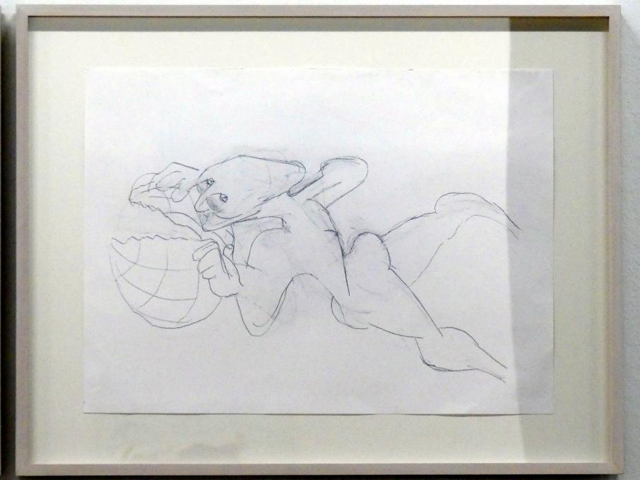 Maria Lassnig: Ohne Titel, Um 2003