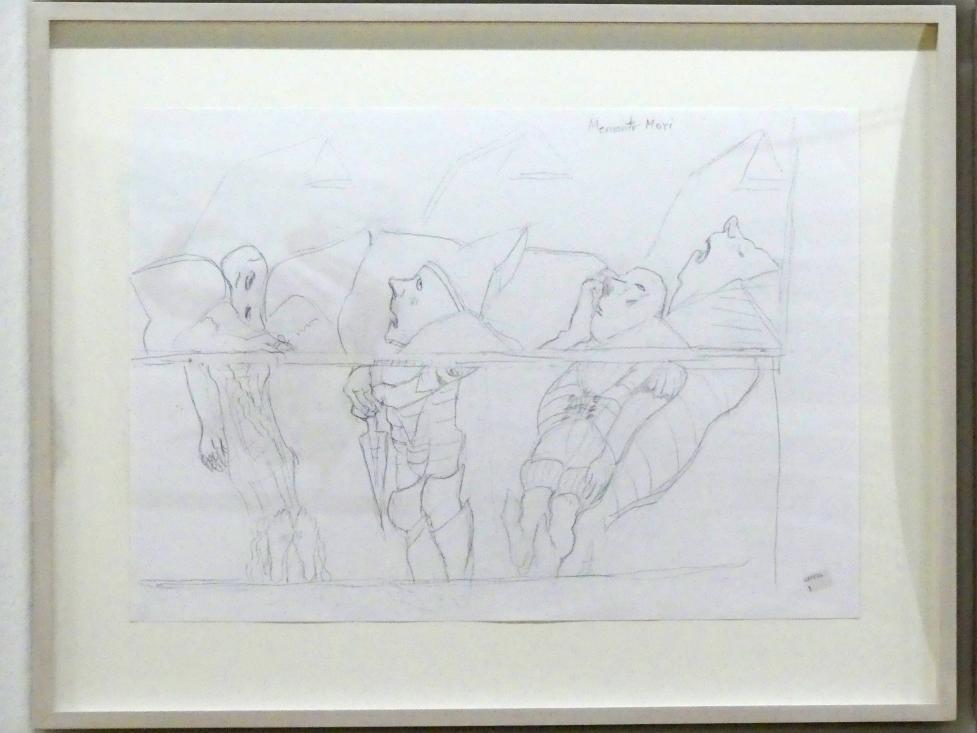 Maria Lassnig: Memento mori, Um 2005