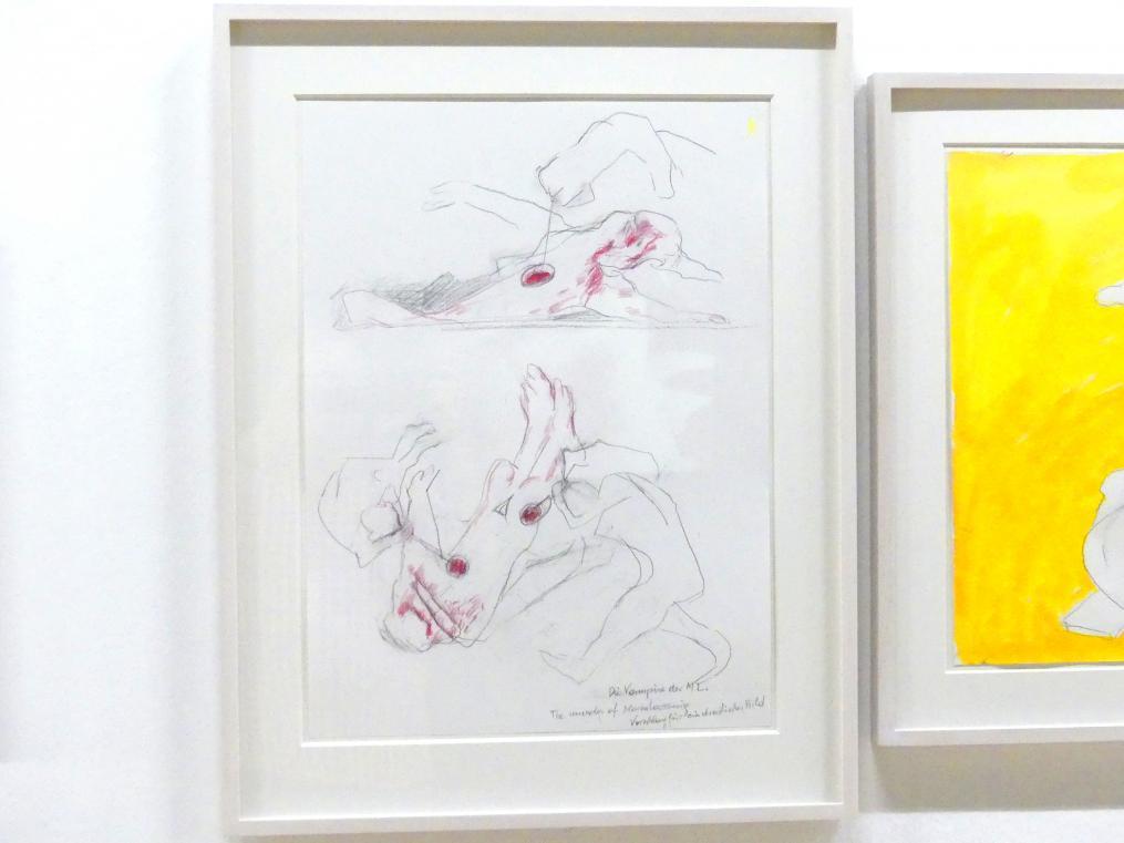 Maria Lassnig: Die Vampire der ML. / The Murder of Maria Lassnig / Vorschlag für ein drastisches Bild, Um 2000 - 2009