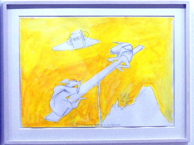 Maria Lassnig: Ich bin der Nachahmer meiner Epigonen, Um 1998