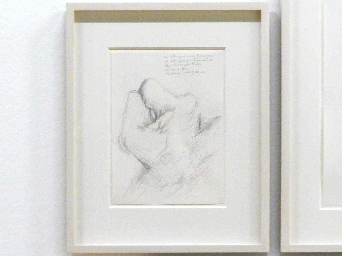 Maria Lassnig: Ich hätte gern einen Grosspapa, ich hätte gern eine Grossmama, aber leider, aber leider ist keiner da, ich armer Froschquaqua, 1982