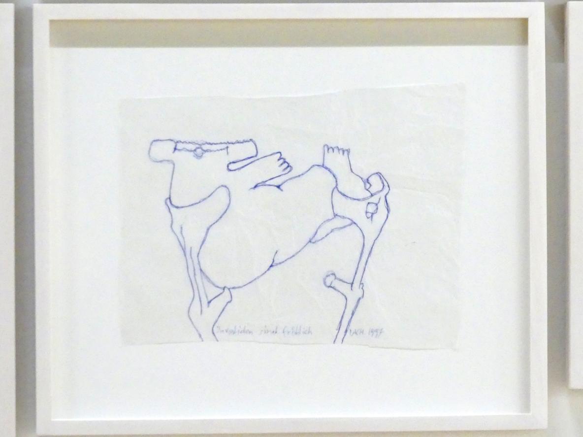 Maria Lassnig: Invaliden sind fröhlich, Nach 1997