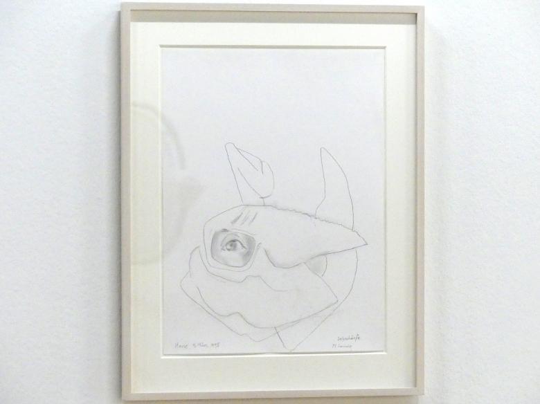Maria Lassnig: Sehschärfe, 1995