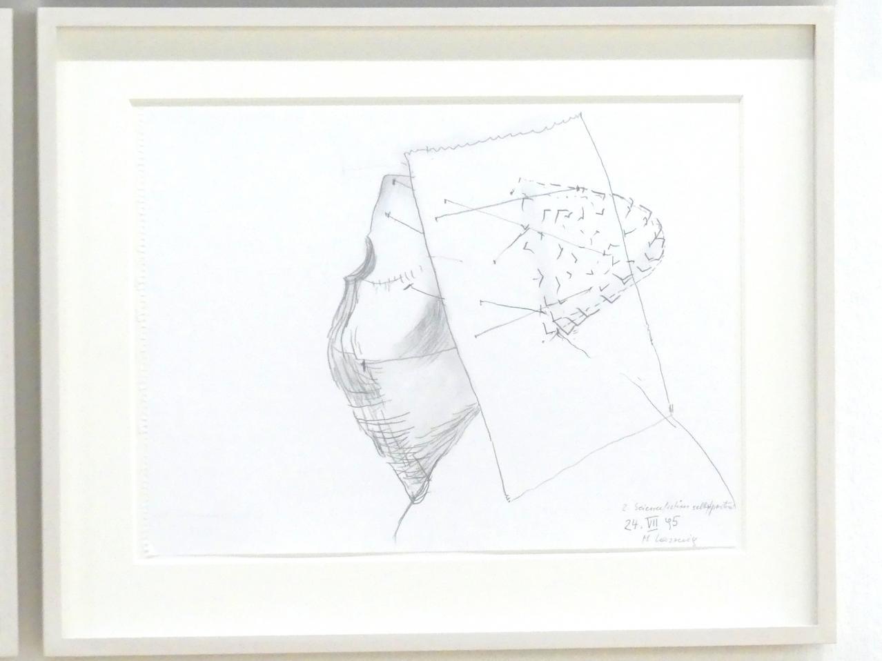 Maria Lassnig: 2. Sciencefictionselbstportrait, 1995