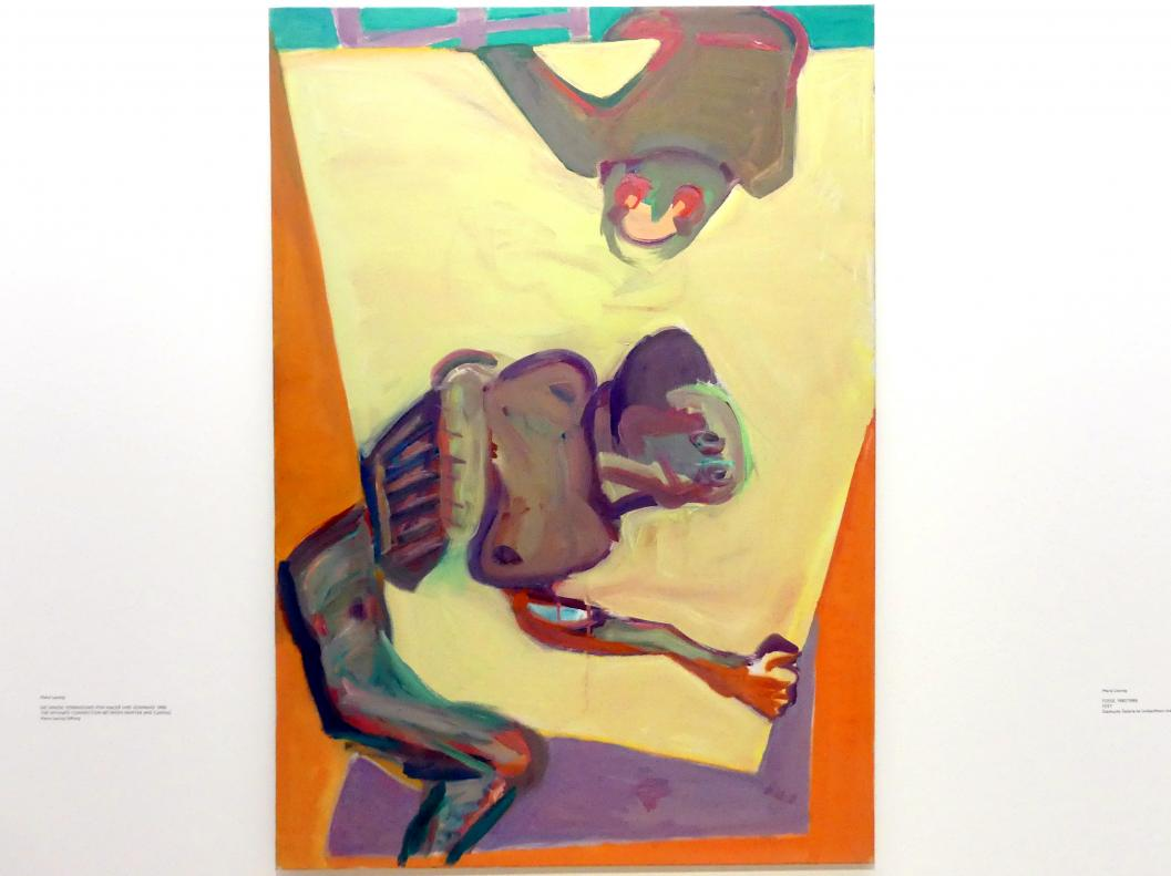 Maria Lassnig: Die innige Verbindung von Maler und Leinwand, 1986